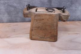 oud houten oliepotje ster
