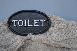 deurplaatje toilet
