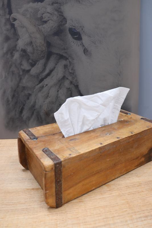 baksteenmal tissuehouder
