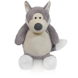 Zippie wolf grijs