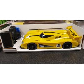 Grote RC Racewagen geel