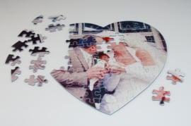 Puzzel hart model