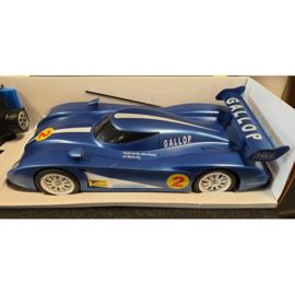 Grote RC Racewagen blauw