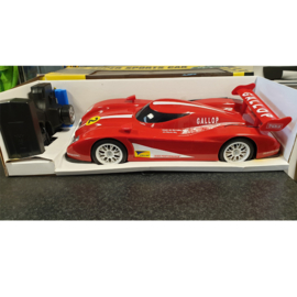 Grote RC Racewagen rood