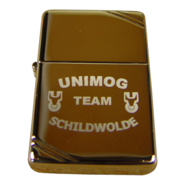 Zippo regular vintage chrome high polish