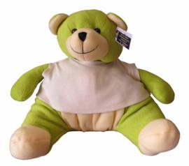 Knuffelbeer groen 35cm