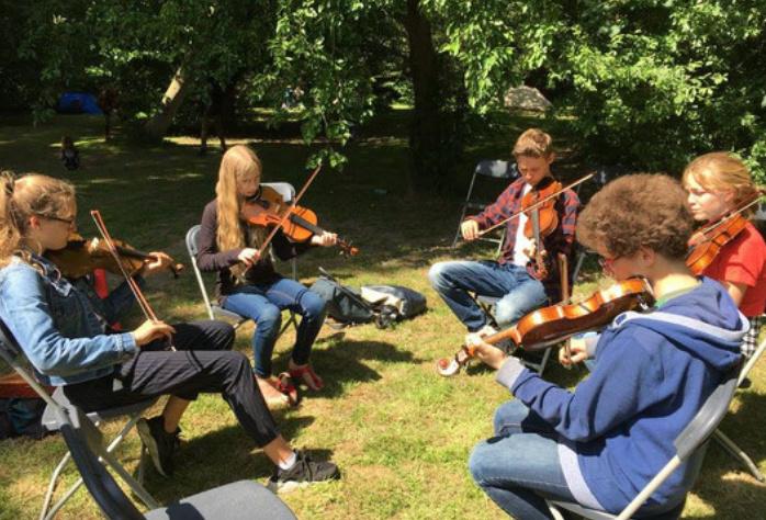 Fiddler Workshop (Sunday dinner included)