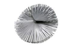 Staalborstel rond Ø150mm Voor RVS Flexibele Rookkanalen