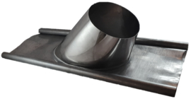 Loodslab 0-5 graden tbv rookkanaal Ø150-200 mm DW