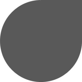 Vloerplaat Staal Grijs 2mm Druppel 100x100cm