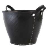 Houtmand recyled - rubber 40cm