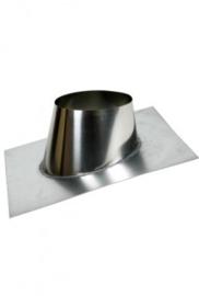 Plakplaat 5-25 graden tbv Dubbelwandig rookkanaal Ø150-200 mm