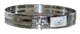 Rookkanaal DW Ø150 mm Klemband RVS