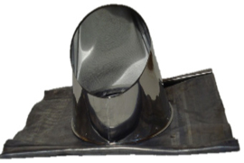 Loodslab 0-5 graden tbv rookkanaal Ø125-175 mm DW