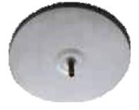 Rookkanaal EW Ø125 mm, Deksel tbv T-stuk