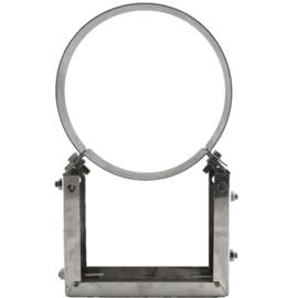 Verstelbare Muurbeugel Deluxe Ø 150/200 mm RVS