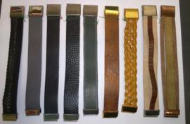 Armbanden leer