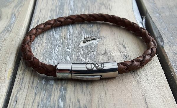 Smalle gevlochten armbanden