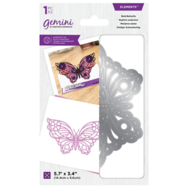 Gemini Layered Engraving Elements snijmal - Bold Butterfly