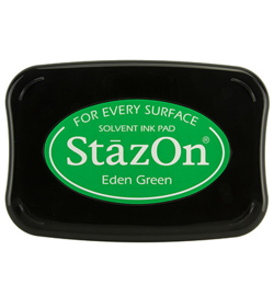 Stazon Ink Pad Eden Green