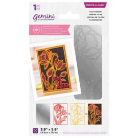 Gemini CAD - Dubbelzijdige snijmal - Tulip Window