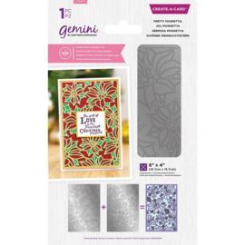 Gemini CAD - Dubbelzijdige snijmal - Pretty Poinsettia
