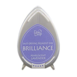 Dew Drop Brillance Ink Pad Pearlscent Lavender