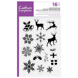 Clearstamp Kerst set - Winter Wonderland