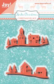 Snijmal - Kerst dorp