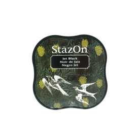 StazOn midi solvent dye ink 5,8x5,8cm Jet Black