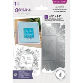Gemini Folie Stamp mal - CAC - 'Tis the Season