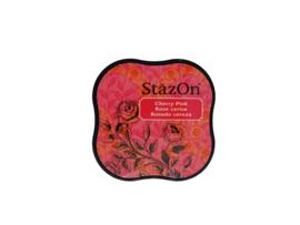 StazOn midi solvent dye ink 5,8x5,8cm Cherry Pink