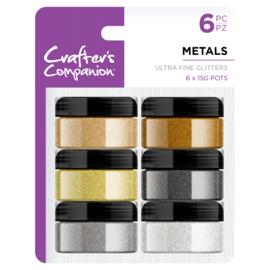 Crafter's Companion Ultrafijne glitter - Metals