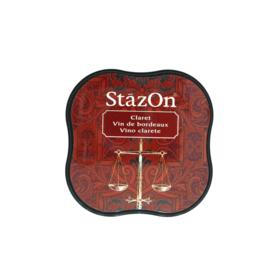 StazOn midi solvent dye ink 5,8x5,8cm Claret