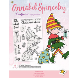 Annabel Spenceley Clearstamp - Oh What Fun