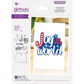 Gemini Expressions layered snijmal - Joy To The World