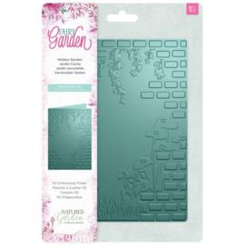 Fairy Garden - 3D Emboss folder - Hidden Garden (Verborgen tuin)