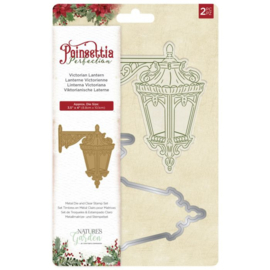 Poinsettia Perfection - Clearstamp&snijmal - Victorian Lantern