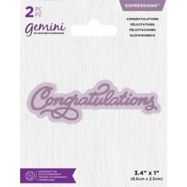 Gemini Expressions - Congratulations