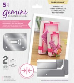 Gemini Dimensions - Dubbelzijdige snijmal - Rechthoekige doos