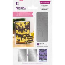 Gemini CAD - Dubbelzijdige snijmal - O' Little Town