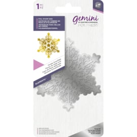 Gemini Folie Stamp mal - Elementen - Ornate snowflake