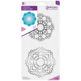 Gemini Mandala Clearstamp & Snijmal - Harmony