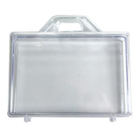 Transparante koffertje