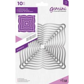 Gemini Elements - Stitch Edge Square 2 (Stitch rand vierkant 2)