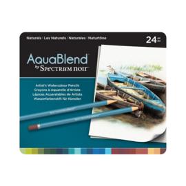 AquaBlend Potloden a 24 stuks - Naturals