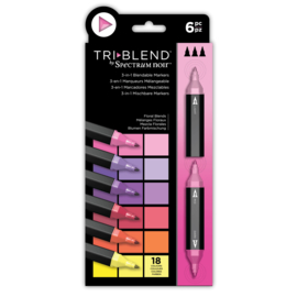 Spectrum Noir  - Triblend - Floral Blends (Bloemen Blends) a 6 stuks
