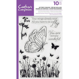 CC - Clearstamp - Butterfly Meadow