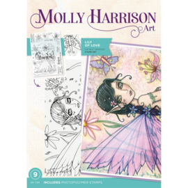 Molly Harrison Clearstamp - Lily of Love