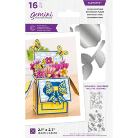 Clearstamp & snijmal - Floral Boutique